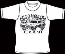 wholesale screen printing  for Automobile Clubs in Martinsville