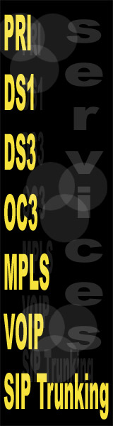 DS1, DS3, OC3, MPLS, PRI and more. Whiteland, Indiana (IN) OC48 internet service